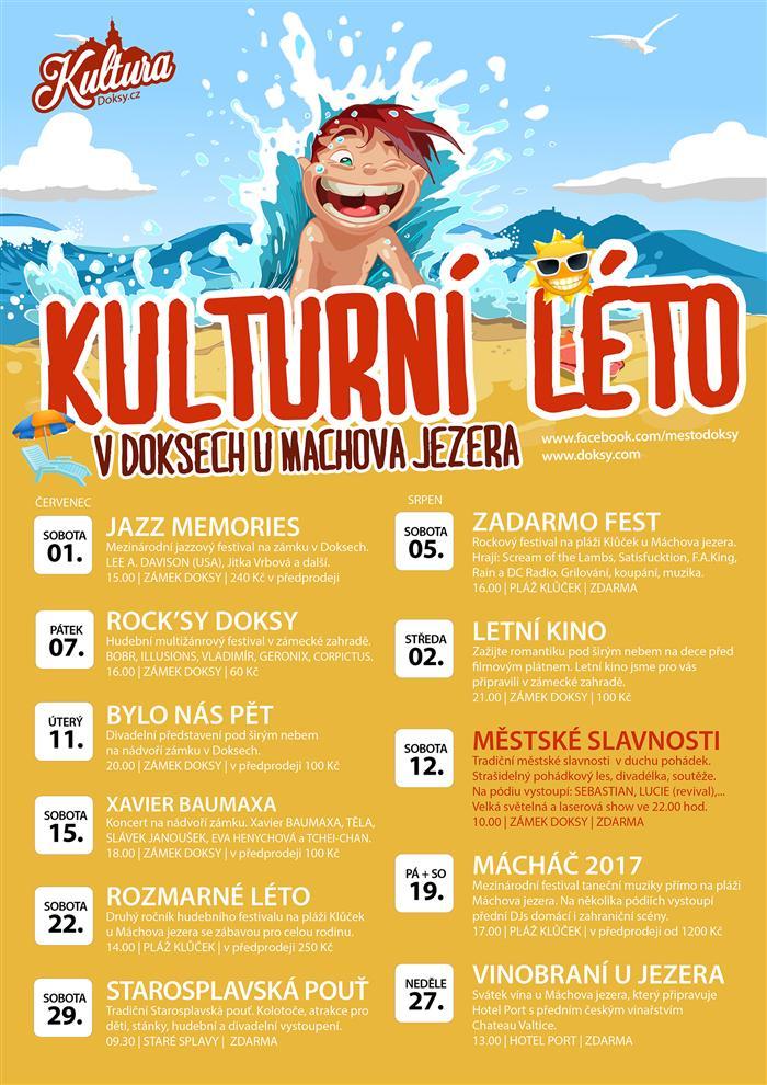 Kulturní léto v Doksech 2017